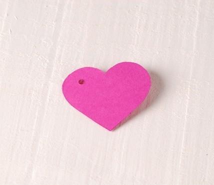 Corazón Cartón Colgante 10 ud.