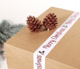 Weihnachtsklebesiegel