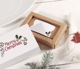 Geschenkkartenbox zu Weihnachten