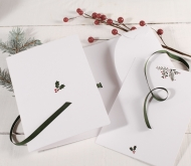 Carpeta para tarjetas de Navidad