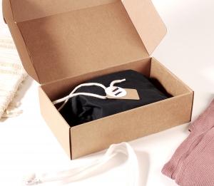 Caja para ropa rectangular automontable