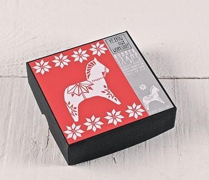 """Kit de sellos """"Caballito de Navidad"""""""