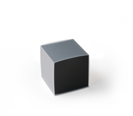 Cube gift box with sleeve
