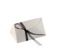 Simple triangular gift box
