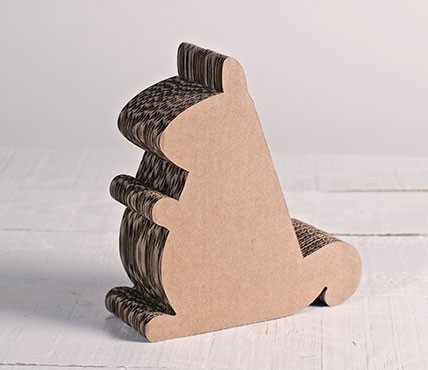 Soporte de cartón para iPad - ardilla de cartón
