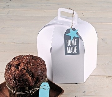 Caja para pasteles caseros