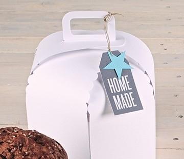 Box for homemade cakes