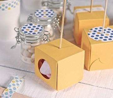 Caja para un cake pop