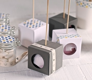 Single cake pop box