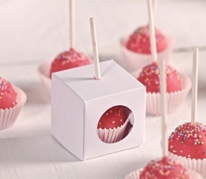 Single cake pop boxes