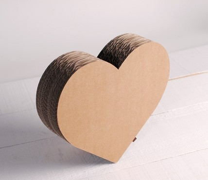 Corazón de Cartón
