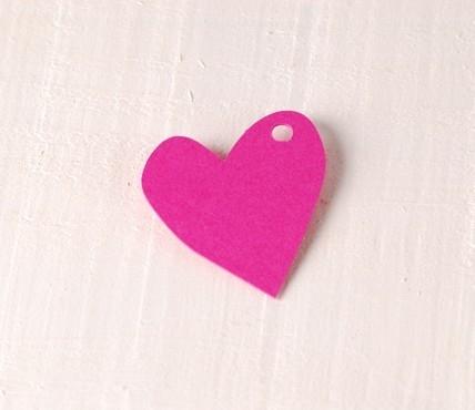 Corazón Desigual Pequeño 10 u.