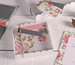 Transparente Schachteln für kleine Hochzeitsgeschenke