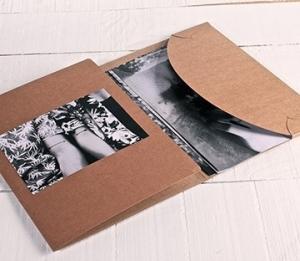 Cartella in cartone per fotografie