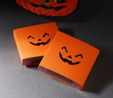 Little Hallowen Box with Frightening Smile