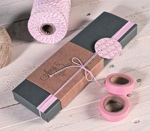 Cajas rectangulares para detalles de boda