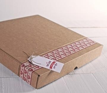 Flache Versandkartons