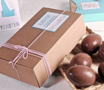 Pappschachteln für Schokolade-Eier