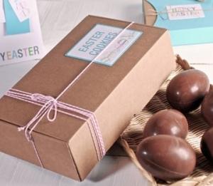 Scatole in cartone per uova di cioccolato