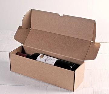 Flaschenverpackungen für Sendungen