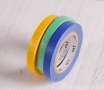 3 washi tape rolls primary colours