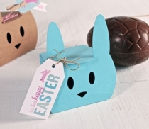 Scatola regalo a forma di coniglio