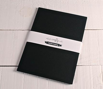 Cartoncini neri A4