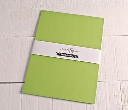 A4 pistachio green cards