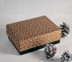 Scatole da regalo natalizio con coperchio