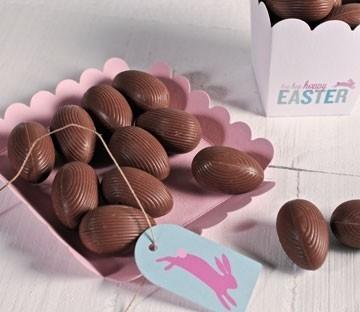 Cajas transparentes para huevos de chocolate