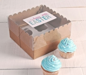 Tall cupcake boxes for 4 cakes