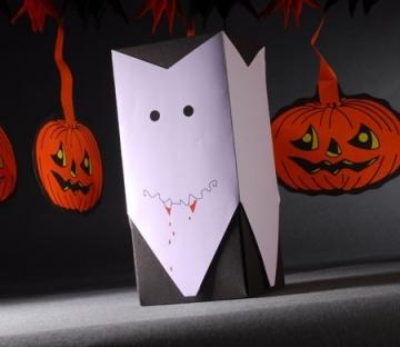 Caja de regalo para Halloween - Drácula