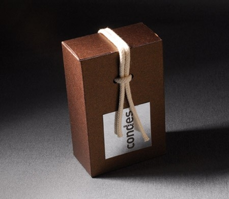 Small box for welcome gifts