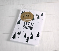 "Adesivo decorativo in vinile ""Let it snow"""
