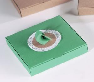 Caja regalo con flor de aspa