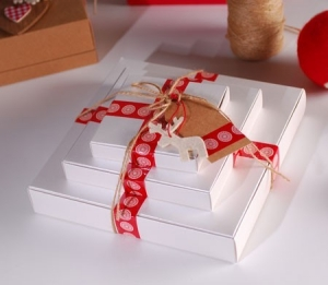 Simple gift box for shops