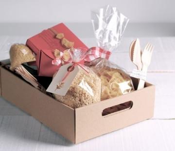 Caja para cestas de navidad y lotes regalo