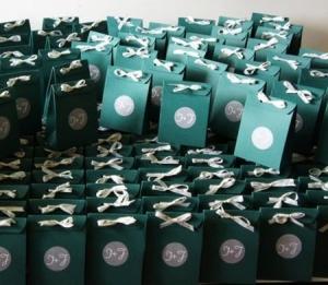 Caja de cartón para detalles de boda