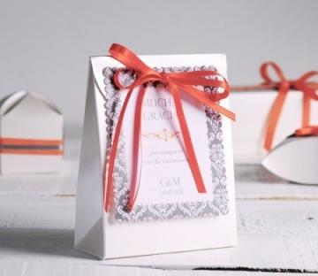 Schachtel für Hochzeitseinladungen