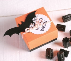 Scatolina per caramelle di Halloween