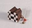 """Timbro """"geometrico 2"""" in legno"""