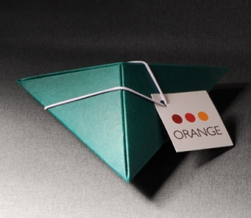 Triangular box for small gifts