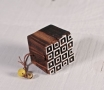 Geometric woodblock stamp 3