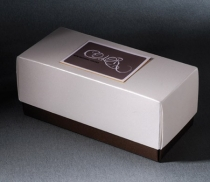 Rectangular gift box with lid