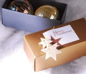 Little rectangular box for Christmas