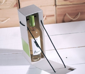 Caja para botella personalizada