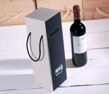 Caja resistente para botellas