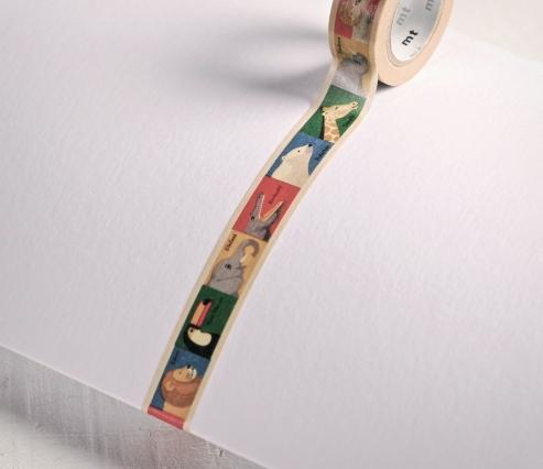 Washi Tape Disegni di Animali