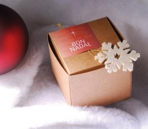 Little 'self-assembling' box for Christmas