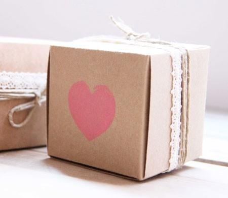 Caja para detalles de boda